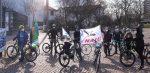 NABUs und NAJUs beim Klimastreik - Fahrrad-Demo in Darmstadt