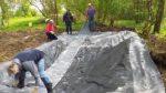 Amphibienteich auf NABU-Grundstück wird erneuert II