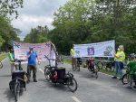 Fahrraddemo - KEIN 6-spuriger Ausbau der A5 / A67 - MOBILITÄTSWENDE JETZT!