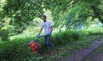 Pflege der Feuchtwiese am Märchenteich
