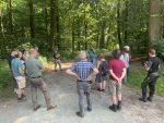 Debatten und Standpunkte: Waldexkursion Felsberg