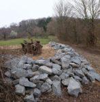 Neue Trockenmauern am Seeheimer Blütenhang fertiggestellt