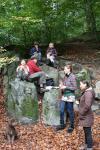 Ausflug der Füchse-Gruppe zum Waldkunstpfad