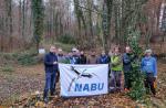 Amphibienteich-Projekt im Alsbacher Schöntal gestartet
