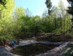Der neue Dornbachteich wird eingeweiht