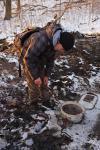 Die Feuersalamamder sanieren den Salamanderteich